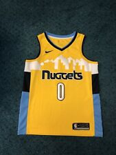 Denver Nuggets EMMANUEL MUDIAY Nike Dri Fit Swingman Jersey Size Large 48