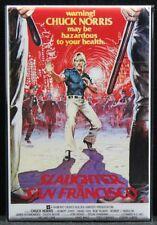 "Slaughter in San Francisco Movie Poster 2"" X 3"" Fridge Magnet. Chuck Norris"