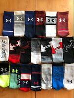 NEW Under Armour UA Phenom Training Socks 1 Pair-Size Medium Men 4-8, Women 6-9
