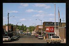 Minnesota MN postcard Moose Lake, Sturgeon Lake Island Lake resort chrome