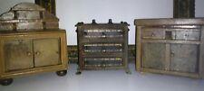 3 mobili antichi presepe casa delle bambole portagioie in legno massello