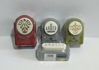 Anna Griffin Craft Paper Punches x 4 - Different Designs - New - Please Read.