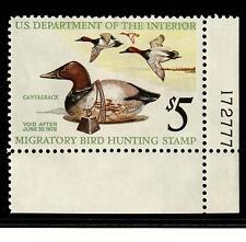 1975 Scott RW42 MNH F-VF Canvasback Ducks and Decoy