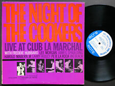 FREDDIE HUBBARD The Night Of The Cookers Vol.1 LP BLUE NOTE BLP 4207 NY RVG MONO