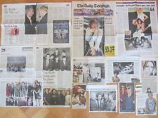 ROLLING STONES clippings/ cuttings UK newspaper 2005-2013 MICK JAGGER