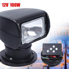 DC12V Spotlight for Boat Truck Car Marine Remote Searchlight with Remote Control