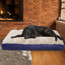 Orthopedic Foam Mattress Dog Bed Calming Anti-Anxiety Cushion for Dogs and Cats