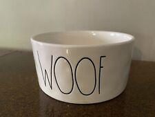 "New listing Rae Dunn Dog Bowl Dish - ""Woof�"