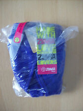 Bra Top Ladies Zumba Wear Z1T00367 V Bra Purple Amethyst Size Medium New + Tags