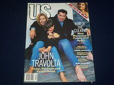 1995 DECEMBER US MAGAZINE - JOHN TRAVOLTA COVER - GREAT PHOTOS - BO 49