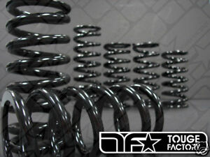 STANCE coilover springs 6k / 150mm   336 lbs / 6 in  (65mm I.D) - ONE PAIR