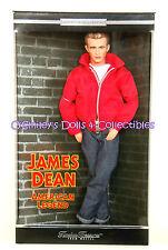 JAMES DEAN_AMERICAN LEGEND 2001 Timeless Treasures HOLLYWOOD Barbie_27786_NRFB