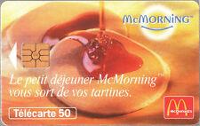 SCHEDA TELEFONICA PHONE CARD - MCDONALD'S - FRANCE TELECOM 50 UNITES