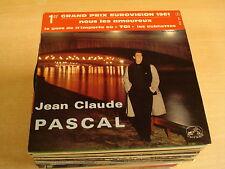 45T EP / JEAN CLAUDE PASCAL - NOUS LES AMOUREUX ( GRAND PRIX EUROVISION 1961 )