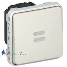 Interrupteur temporisé lumineux Plexo blanc Legrand 69604