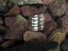 Ribbed Spiral Antique Spoon Ring R336 Size 10.25 Western Skies Silver