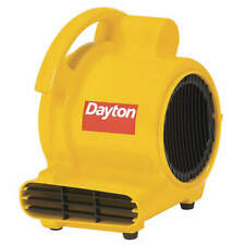 DAYTON 30EK65 Carpet/Floor Dryer,120V,200 cfm,Yellow