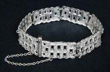 Solid Silver Bracelet c1960s Marked 925