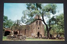 Vintage Postcard MISSION SAN FRANCISCO DE LA ESPADA San Antonio Texas (unused)