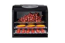 Food Dehydrator Fruit Dryer Beef Biltong Jerky Maker Sunbeam Electric Timer