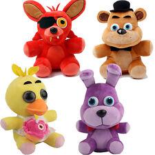"""FNAF Five Nights at Freddy's Plush Soft Toy 10"""" 25cm Bear Foxy Bonnie Duck Dolls"""