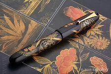NAMIKI EMPEROR N°50 FLOWERING TRELLIS FOUNTAIN PEN 18K M Kyusai Yoshida