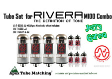 Tube set for Rivera M-100 guitar amp Combo Jerry Garcia setup JJ Electronics