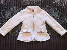 Designer Baby Girls Ted Baker Light Pink Quilted Summer Jacket 18-24 Months