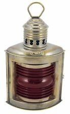 Lampe de Bâbord, Positions-Lampe, Pétrole, Gauche Lanterne de Navire, Rouge,