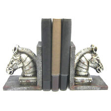 Steampunk Horse Industrial Bookends Shelf Tidy Ornament Gift Animal Lovers