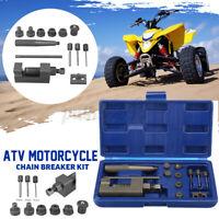 Motorcycle Heavy Duty Deluxe Chain Breaker Riveter Tool 500/520/525/530 Splitter