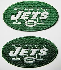 (1) Lot Of (2) Nfl New York Jets Patch Iron-On Item # 27