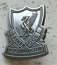 Liverpool Official Pin Badge - Old Style Crest - Silver