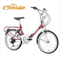 Vélo pliable Firenze CINZIA pliant ville bus train tgv métro NEUF folding bike