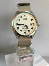 Citizen Mens Eco-Drive Military Style Date Display NETO Strap Watch BV1080-18A