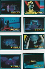 1982 TRON COMPLETE BASIC TRADING CARD SET + STICKERS