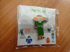 CLASSIC ANDROID MOBILE MWC 2017 PIN BADGE #9 AS PICTURED
