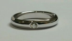 Wedding Ring Engagement White Gold 18 Carats with Natural Diamond Various Offer