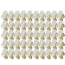100 x LED Tropfen 0,7W E27 KLAR warmweiß 2700K außen Kugel Birne Lichterkette