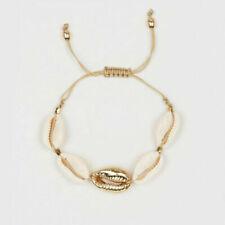 Sea Shell Beaded Bracelet Women Jewelry Summer Beach Ankle Bracelets Chain