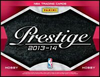 2013-14 Panini Prestige Basketball Complete Your Set Pick 25 Cards From List
