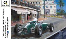 Coffee Mug 1962 Monaco Grand Prix winner Bruce McLaren (NZL) Toon Nagtegaal