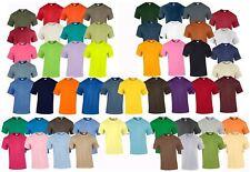 Gildan Mens Womens Ultra Cotton Plain Rounded Neck T-Shirt 100% Cotton