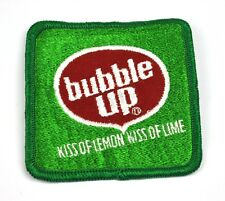 COCA-Cola Bubble Up Lemon-Lime USA STAFFA rappezzi ricamate emblema patch logo 8 cm