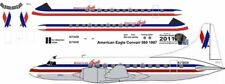 American Eagle Convair 580  decals for Welsh 1/144 kits