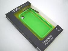 GRAFT CONCEPTS Leverage iPhone 4/4S Case LIME GREEN w/ MATTE or Chrome Latch