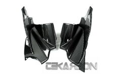 2005 - 2010 KTM Super Duke 990 Carbon Fiber Air Intake Covers - 2x2 twill weaves