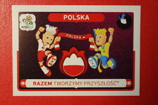 Panini EURO 2012 N. 30 POLSKA NEW With BLACK BACK TOPMINT!!