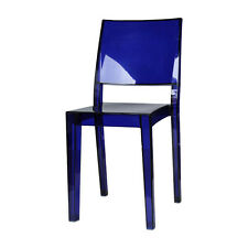 Outdoor/Indoor Furniture: Philippe Starck Blue Hudson Chair Replica
