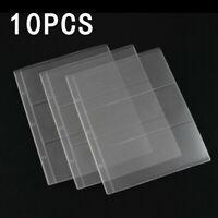 Accessoire Billet de Banque Album Portable Classeur Support 10-pc Collection